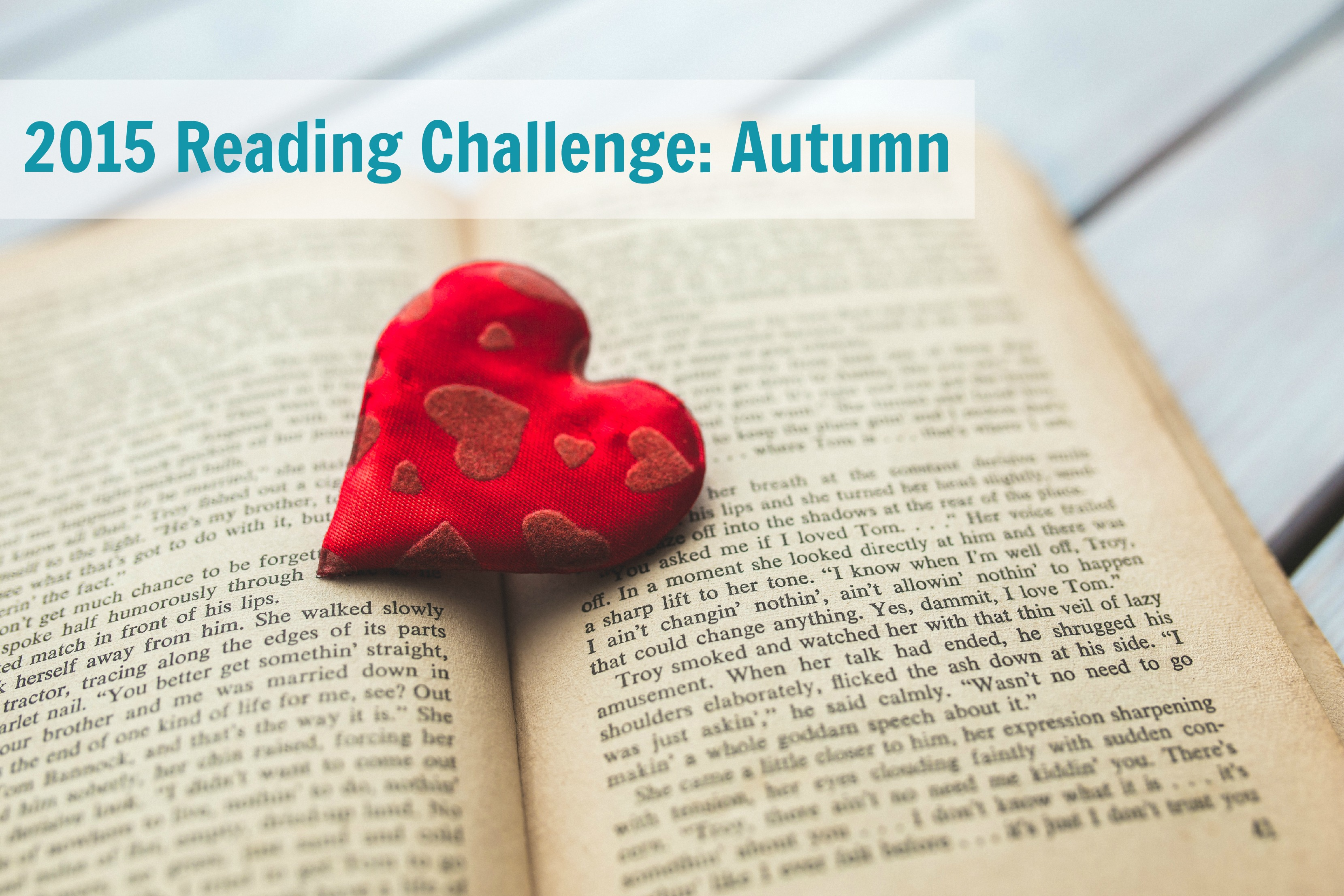 2015 Reading Challenge: Autumn