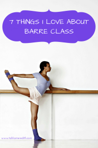 7 things I love about barre class: a review of barre classes in Melbourne